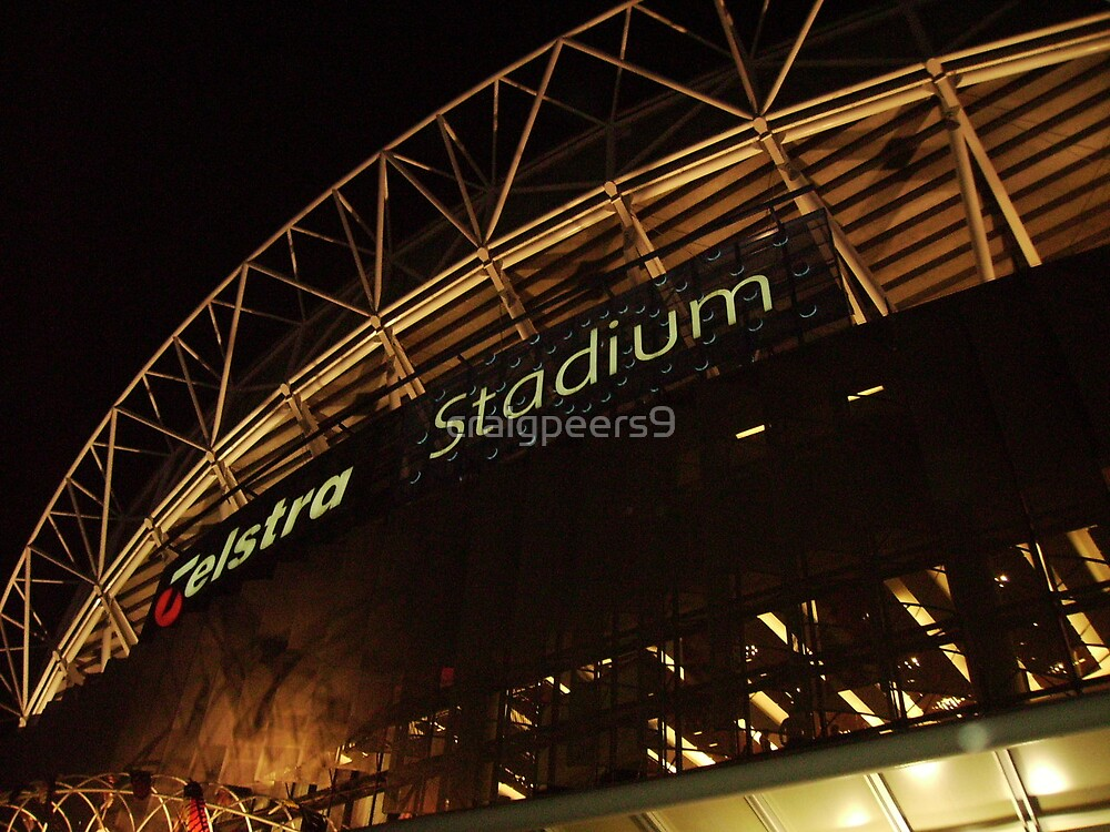 Telstra Stadium by craigpeers9