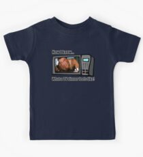Now I know...What a TV dinner feels like! Kids Tee