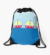 Sailing Drawstring Bag