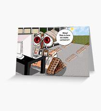 Cartoon Tutorial Greeting Card