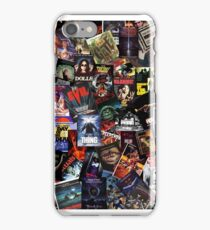 80's Horror movies iPhone Case/Skin