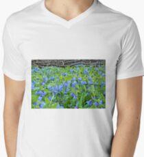 On The Forest Floor Mens V-Neck T-Shirt