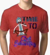 Camiseta de tejido mixto Hora de conseguir schwifty