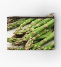 A close up image of fresh asparagus Studio Pouch