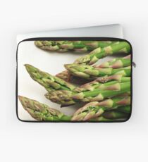 A close up image of fresh asparagus Laptop Sleeve