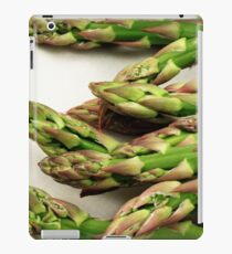 A close up image of fresh asparagus iPad Case/Skin