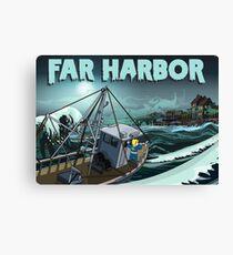 Far Harbor Canvas Print