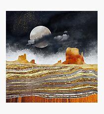 Metallic Desert Photographic Print