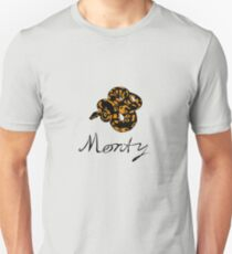 Monty Python (orange snake) Unisex T-Shirt