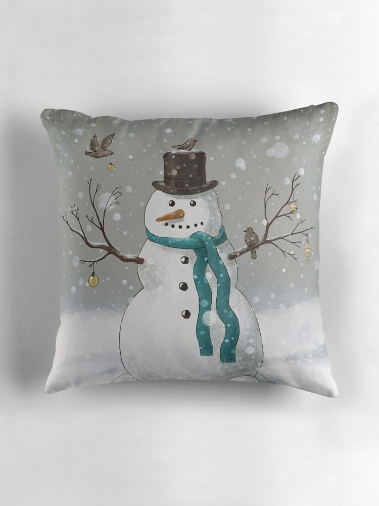 Terry Bird Decorative Pillow :