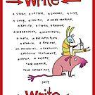 Write by fishcakes
