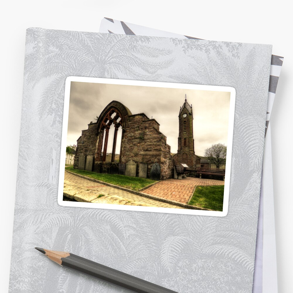 Peel Cathedral  Sticker