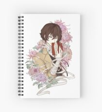 Dazai Spiral Notebook