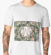 A close up image of cactus spines Men's Premium T-Shirt