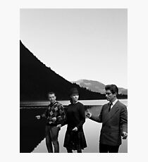 Collage Bande à part (Band of Outsiders) - Jean-Luc Godard Photographic Print