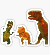 Los Tres Rex Sticker