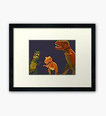 Los Tres Rex Framed Print