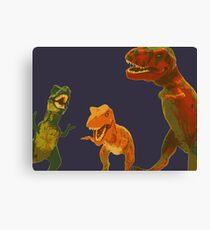 Los Tres Rex Canvas Print