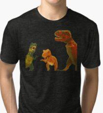 Los Tres Rex Tri-blend T-Shirt