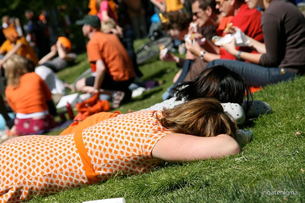 Resting by innatenigma