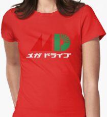Sega Mega Drive Logo Womens Fitted T-Shirt