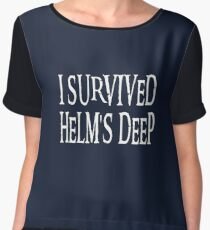 I Survived... Women's Chiffon Top