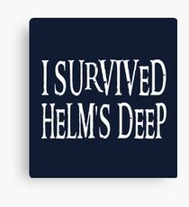 I Survived... Canvas Print