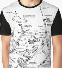 Cycling Tourism Cyclocross Graphic T-Shirt