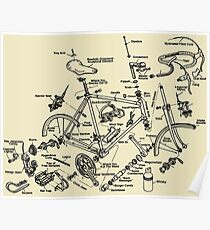 Cycling Tourism Cyclocross Poster