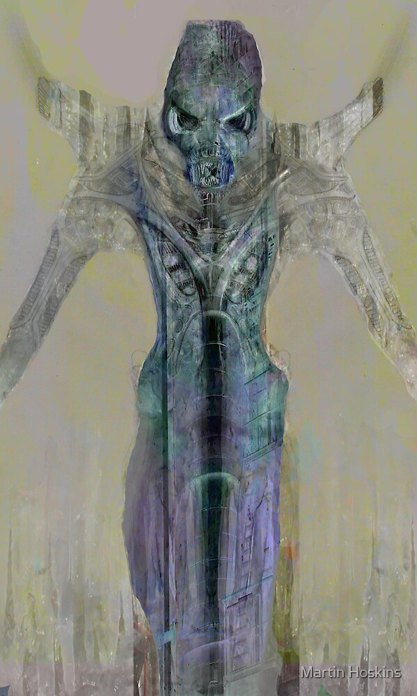 alienesque by Martin Hoskins