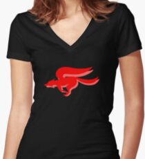 Starfox Women's Fitted V-Neck T-Shirt