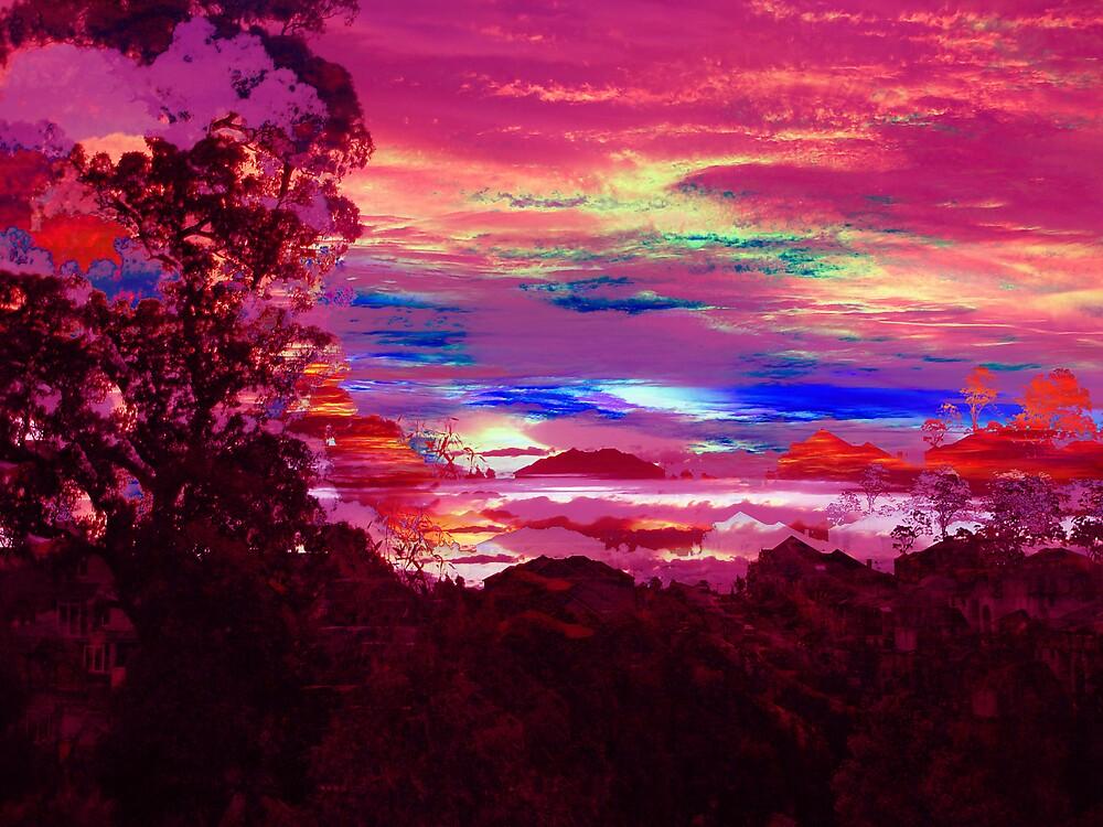 neon suburbia by SherryAnn
