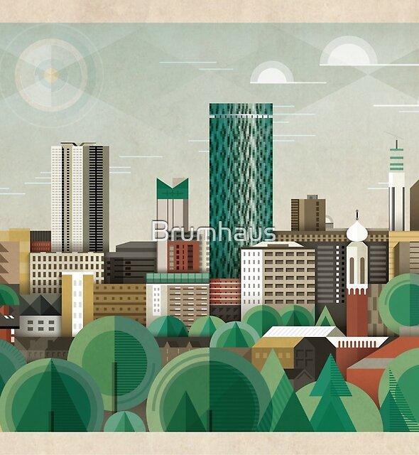 Diese grüne Stadt von Brumhaus