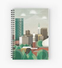 This Green City Spiral Notebook