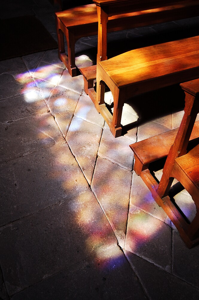 there came a spectacular light through the west church window 1 by ragman