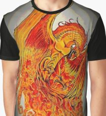 Fire Bird Graphic T-Shirt