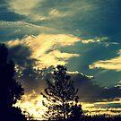 Sonnenuntergang in der Vorstadt von Evita