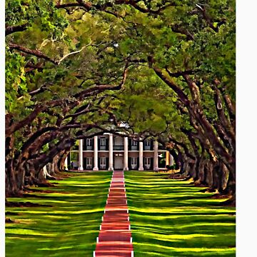 Oak Alley Plantation by steveharrington