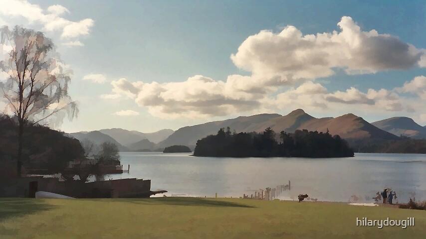 Lakeland sky by hilarydougill