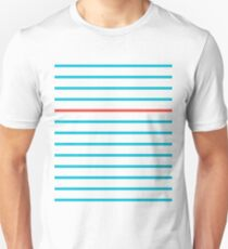Complementary Parallels: College Rules! Unisex T-Shirt