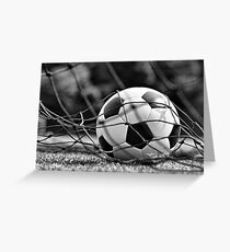 Soccer Ball Greeting Card