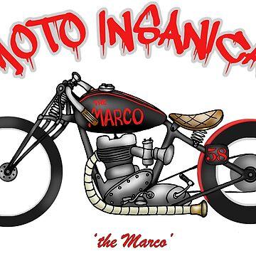 BSA MARCO RACER MOTORCYCLE by squigglemonkey