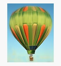 Green Balloon Photographic Print
