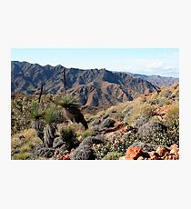 Gammon Ranges, Outback Australia Photographic Print