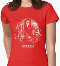 Scream! Womens Fitted T-Shirt