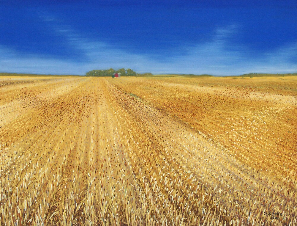 Cut Wheat by GeorgeBurr