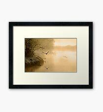 Winter, River Fowey Framed Print