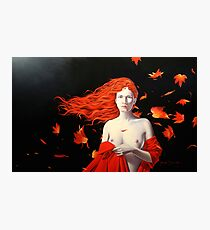 The Ghost of Autumn Photographic Print