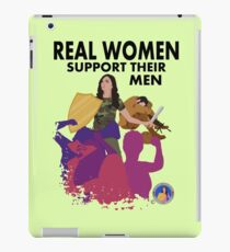 Real Women Fight Back: Military iPad Case/Skin