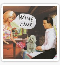 Wine Time Sticker